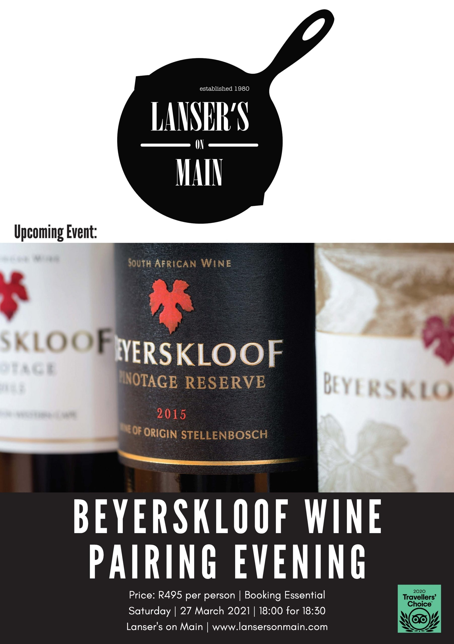 Wine and Food pairing event